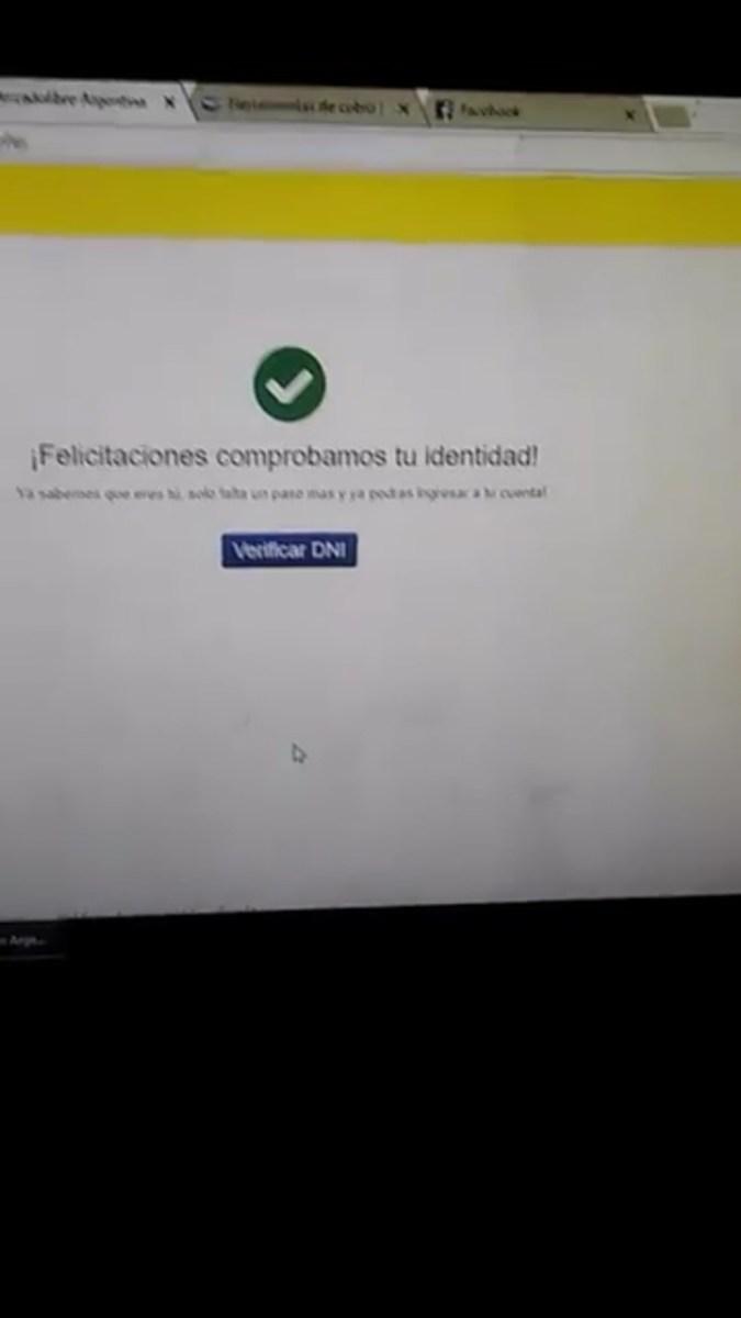 #MercadoPago La estafa que tenés que conocer para no ser víctima. COMPARTIR