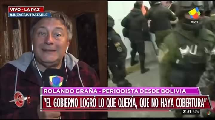 #Bolivia #Preocupante Persiguen y echan a la Prensa Internacional