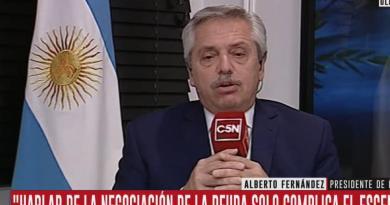 Alberto Fernández, Mauricio Macri,