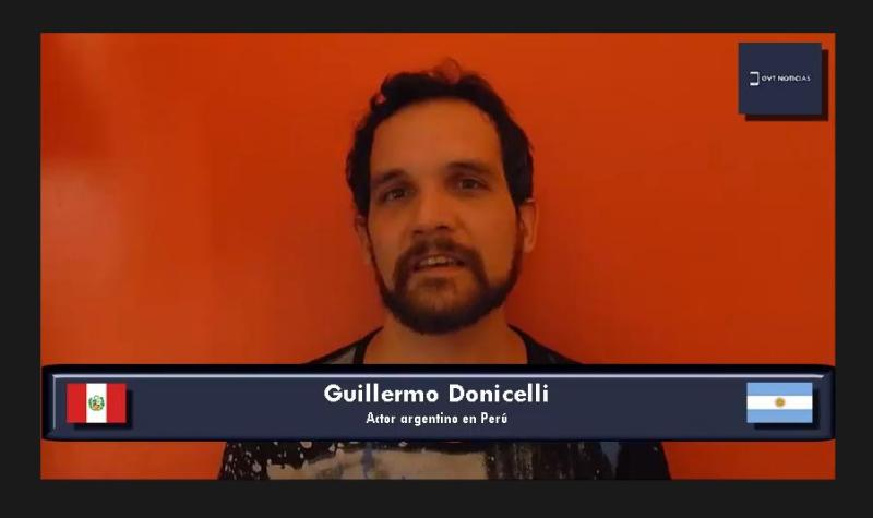 Guillermo Donicelli Perú pandemia.