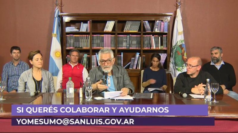 Aislamiento Social Alberto Fernández