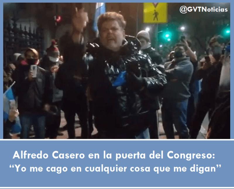 Alfredo Casero en el Congreso