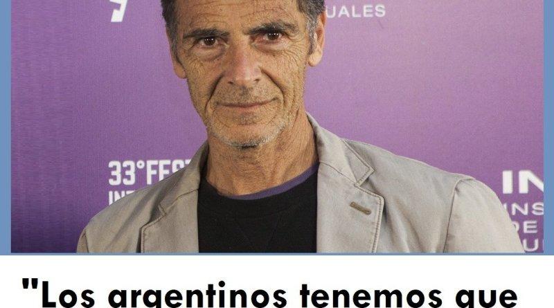 Gustavo Garzon, WikiCommons, Los argentinos tenemos que tener objetivos en común,