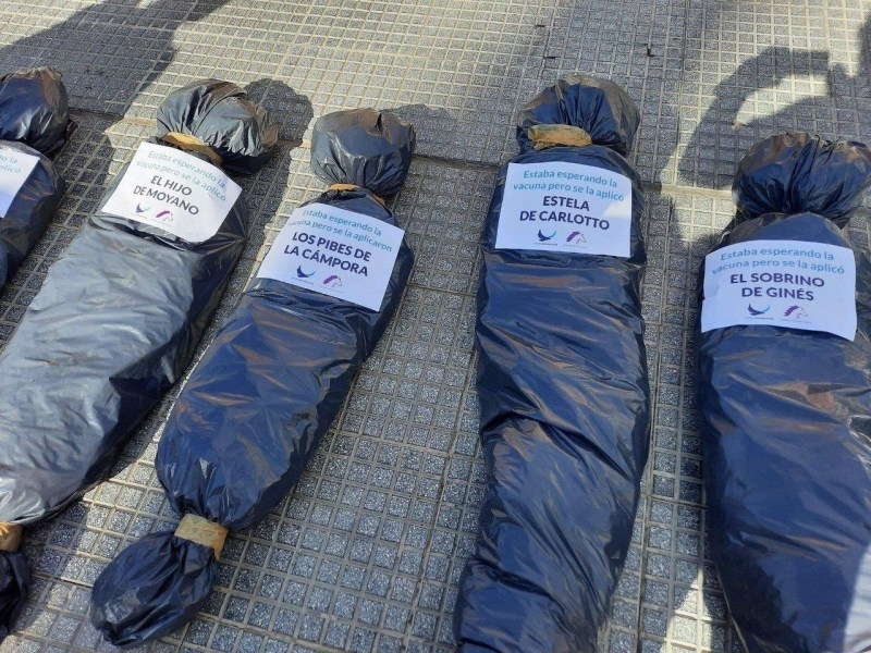 bolsas mortuorias nombres dirigentes políticos Argentina
