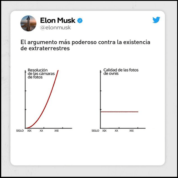 Elon Musk meme OVNIS