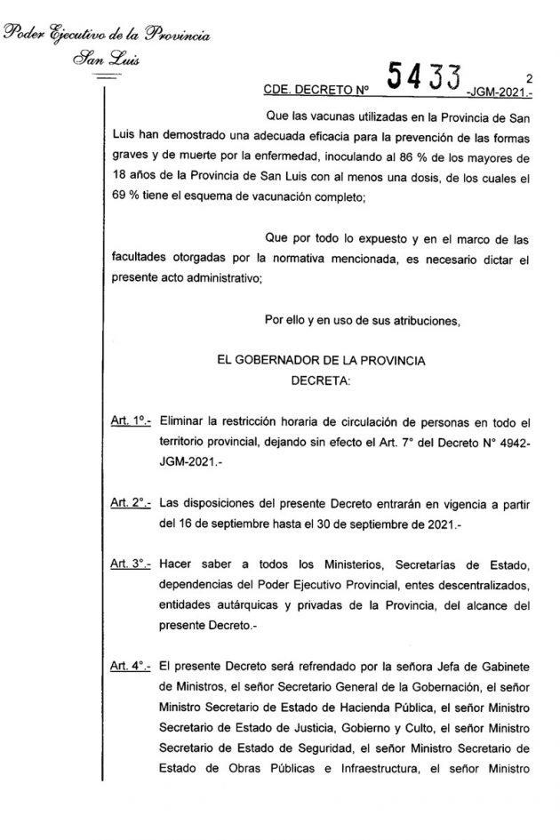 Gobierno de San Luis, ANSL