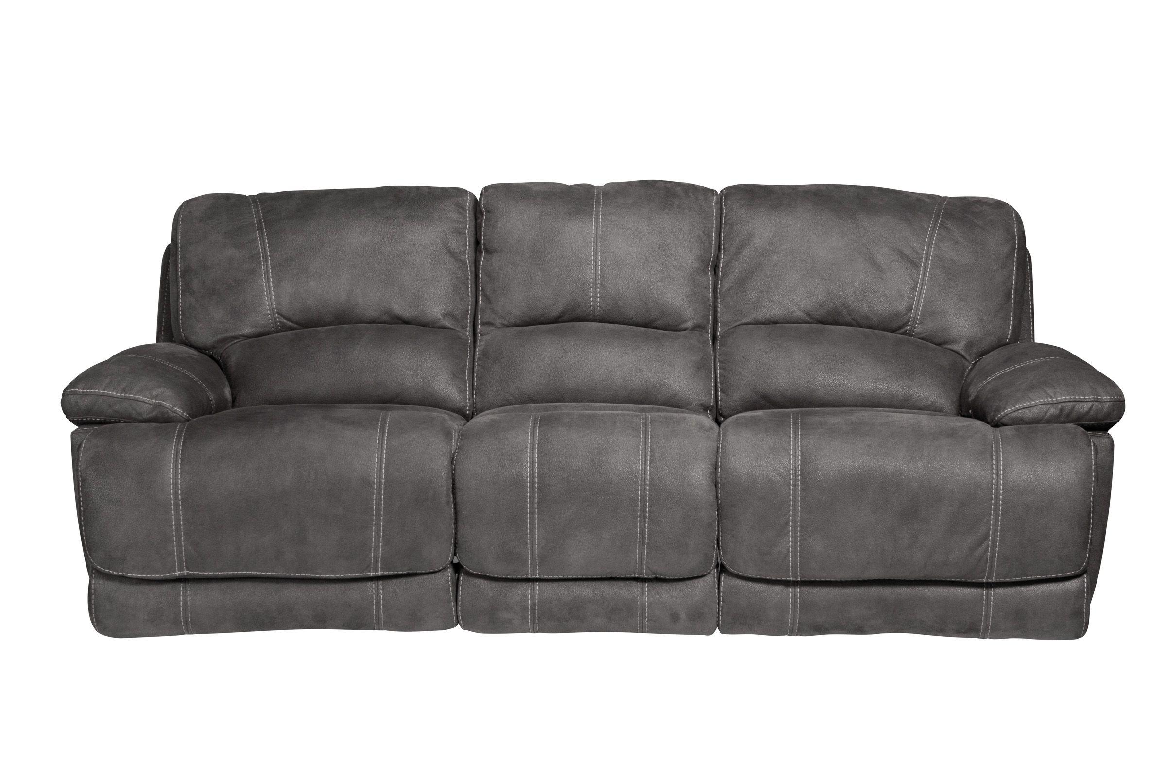 victor microfiber reclining sofa