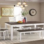 Kodi Solid Wood Dining Table 4 Side Chairs Bench At Gardner White