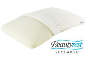 beautyrest recharge memory foam pillow
