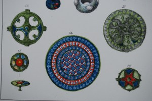 Enamel objects from Caerleon (JE Lee, 'Isca Silurum')