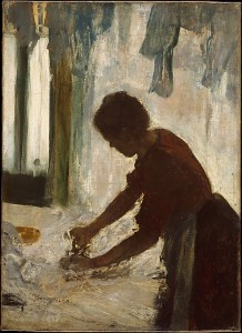 Woman ironing (New York, Metropolitan Museum of Art)