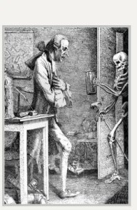 Thomas Patch, Laurence Sterne and Death (engraving)