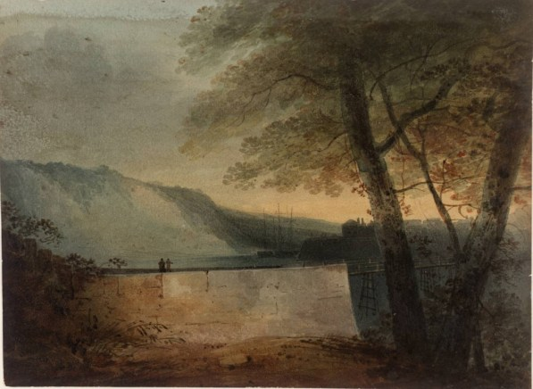 Carnarvon 1800 by John Sell Cotman 1782-1842