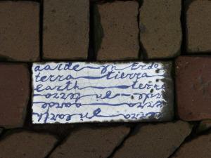 Porcelain tile, Delft street