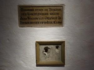 Death of William of Orange, Het Prinsenhof, Delft