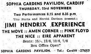 Jimi Hendrix Cardiff