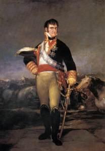 Goya, Portrait of Ferdinand VII (Prado, Madrid)