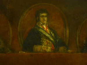 Goya, The Philippines Assembly, detail: Ferdinand VII