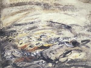 John Piper, Rocks on Tryfan