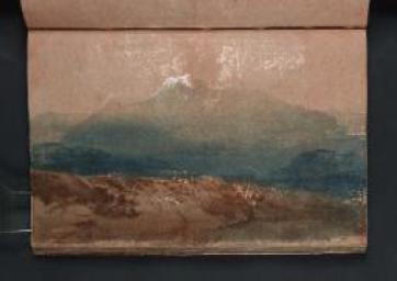 Landscape with Cader Idris c.1798-9 Joseph Mallord William Turner 1775-1851 Accepted by the nation as part of the Turner Bequest 1856 http://www.tate.org.uk/art/work/D01873