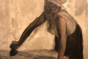 Edgar Degas does some more ironing