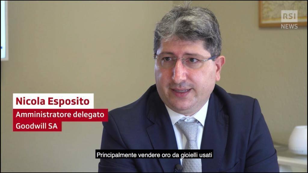 RSI RADIOTELEVISIONE SVIZZERA NEGLI UFFICI DI GOODWILL ASSET MANAGEMENT INTERVISTA L'AD NICOLA ESPOSITO