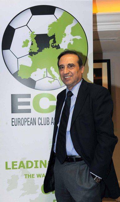 Foto: Ernesto Paolillo a Manchester per l'ECA   News