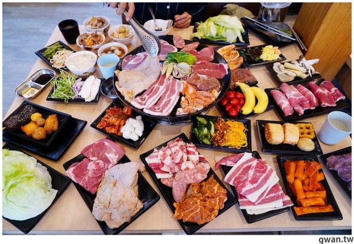 20201215213542 20 - 熱血採訪|台中韓式烤肉吃到飽!烤肉、熱湯、小菜任你吃最低只要369元,周年慶期間還免收服務費~