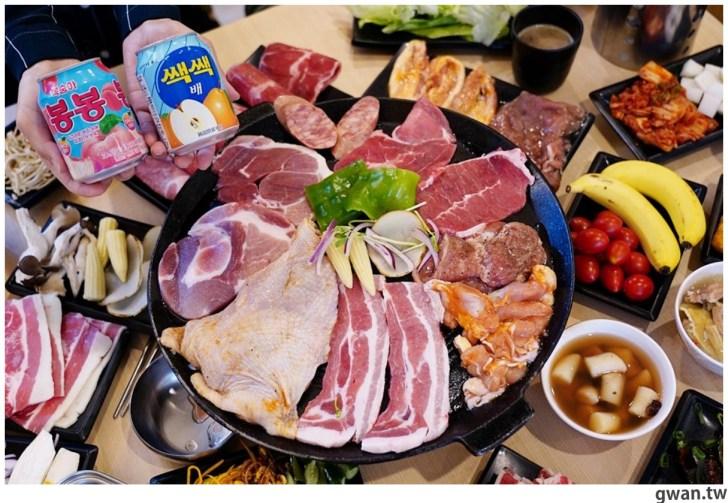 20201215213544 47 - 熱血採訪|台中韓式烤肉吃到飽!烤肉、熱湯、小菜任你吃最低只要369元,周年慶期間還免收服務費~