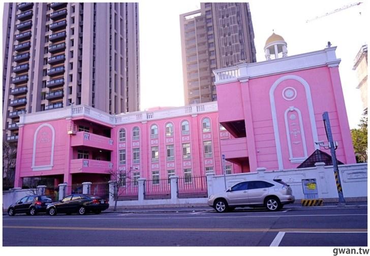 20210213230847 58 - 以為在國外!台中超夢幻的粉紅城堡居然是幼兒園~