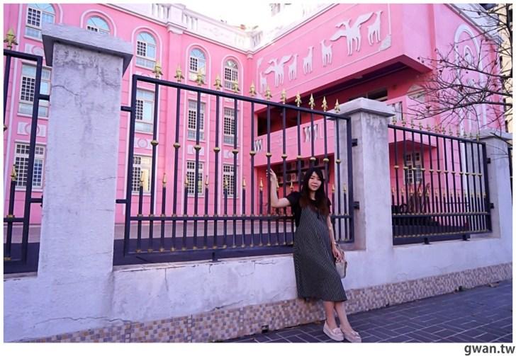 20210213230853 70 - 以為在國外!台中超夢幻的粉紅城堡居然是幼兒園~