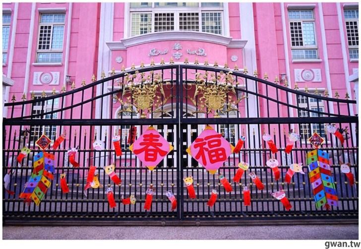 20210213230906 34 - 以為在國外!台中超夢幻的粉紅城堡居然是幼兒園~
