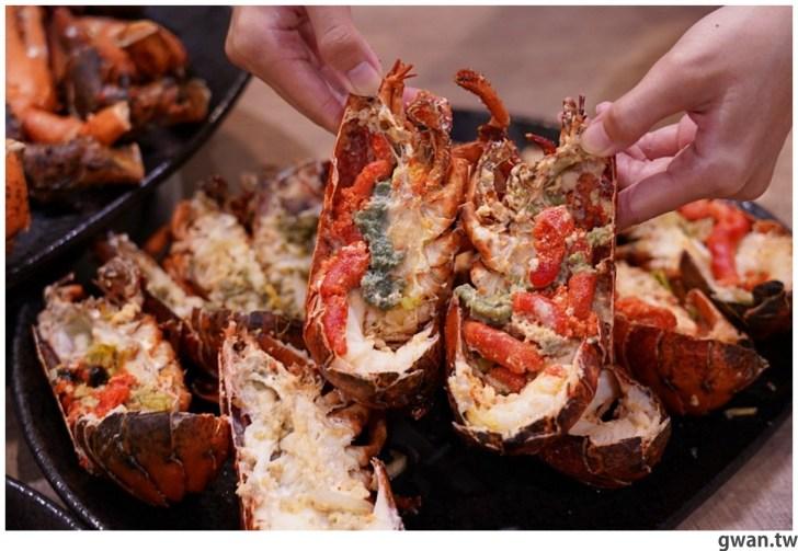 20211001234107 13 - 熱血採訪|人少也能吃!滿滿龍蝦吃到爽,新鮮蝦肉一拉整塊就起來