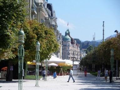 Am See in Luzern: Blick vom Kurplatz zum Nationalquai