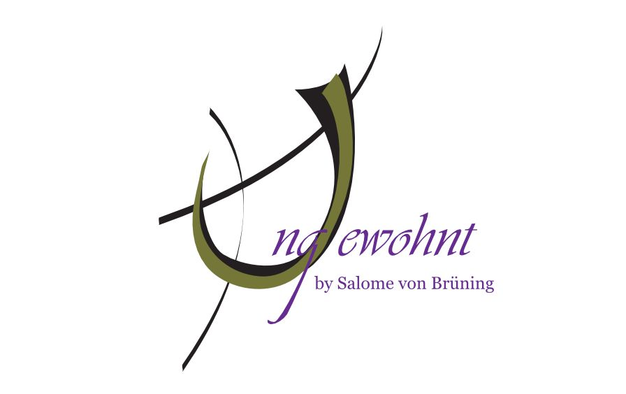 Logo Ungewohnt by Salome von Brüning