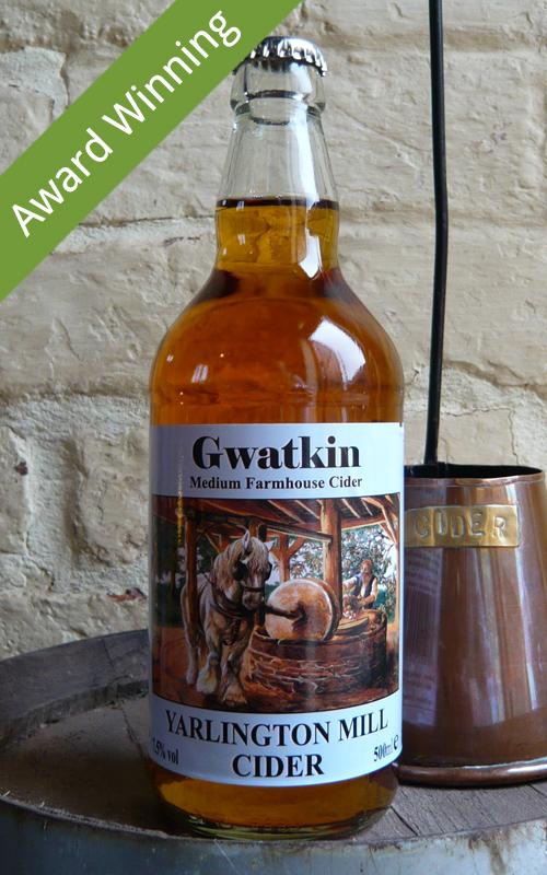Yarlington Mill Cider Gwatkin Cider Award Winning