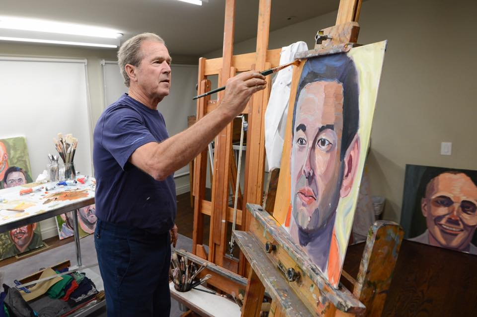 Image result for portraits of courage bush