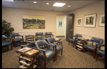 Gainesville Radiology Waiting Room