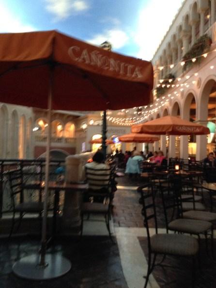 At the Canonita in the Venetian Las Vegas