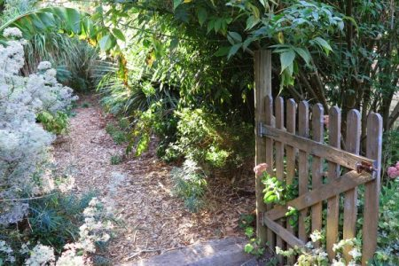 path & gate