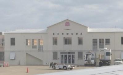 pic of Bermuda airport