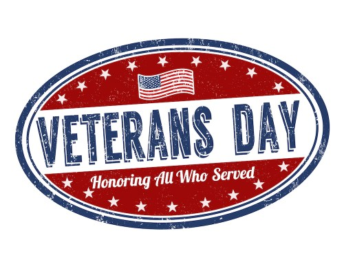 Veterans Day oval
