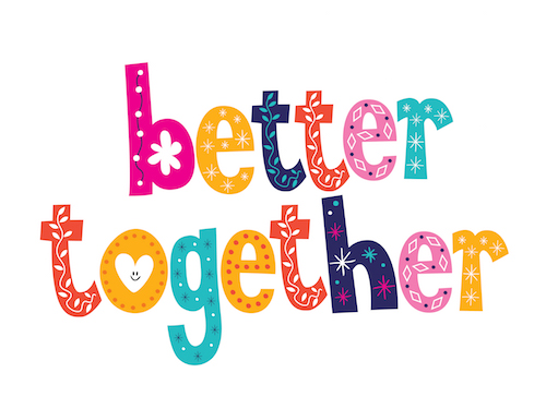 better together text