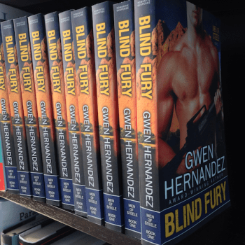 blind fury POD books