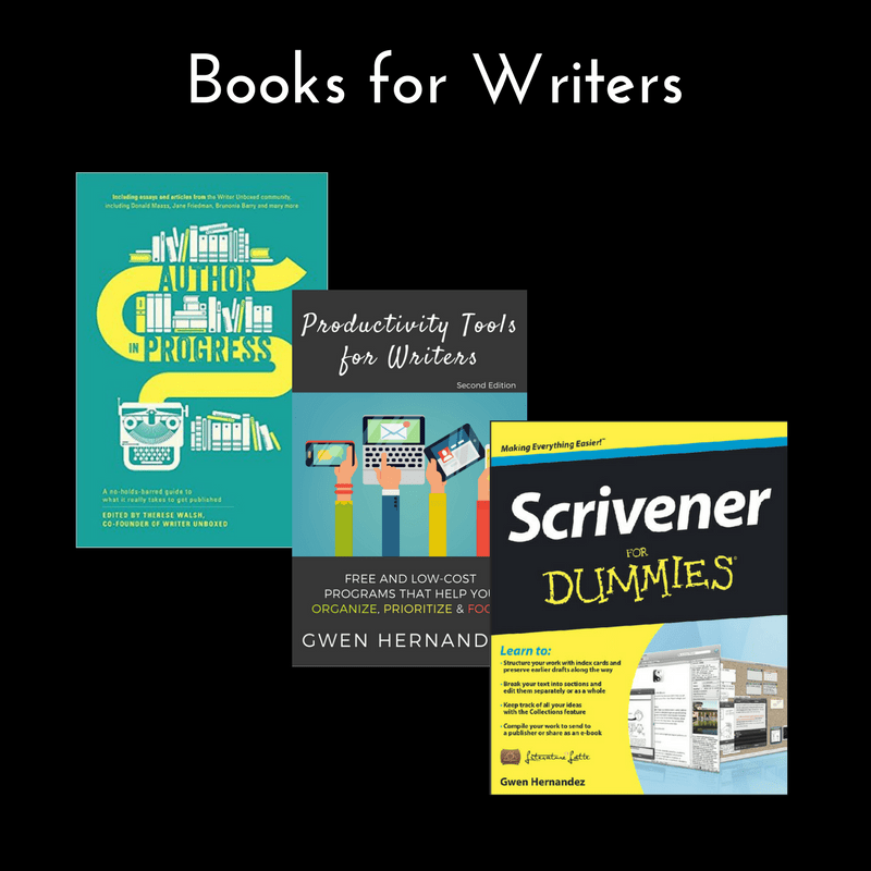 graphic with three nonfiction book covers