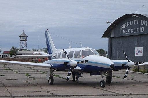 Piper Navajo airplane