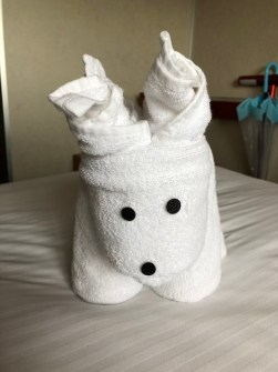 reindeer towel animal