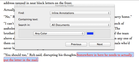 Finding Annotations