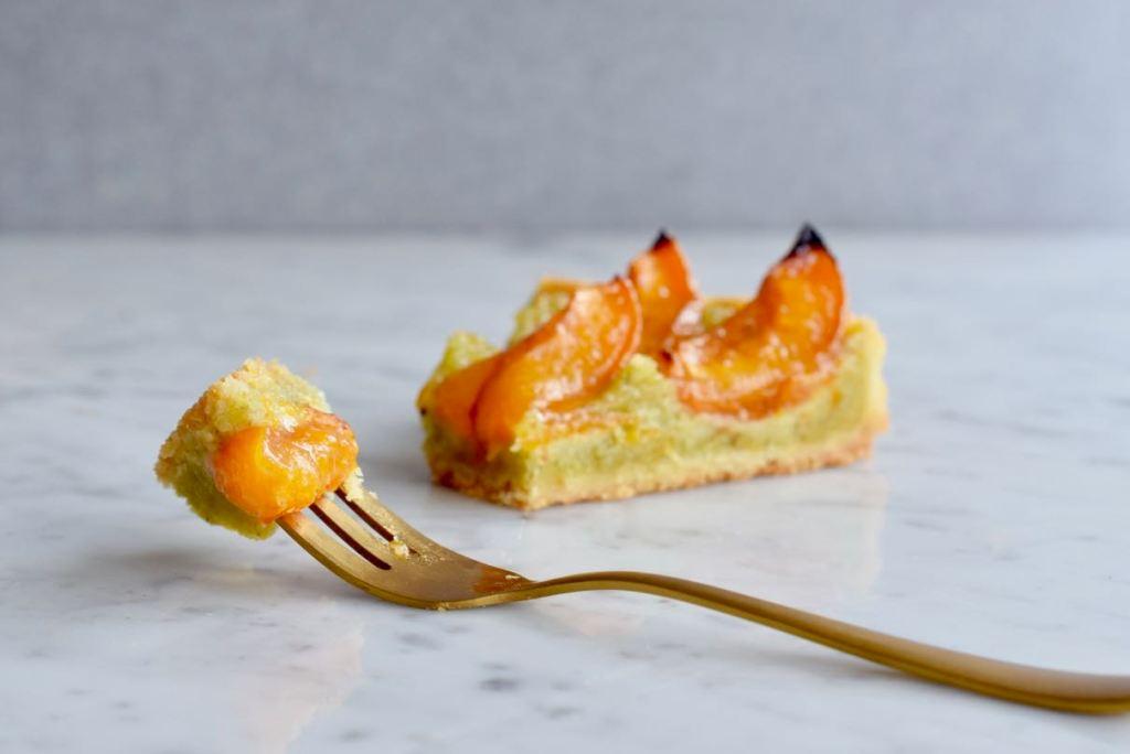 Abrikozentaart met pistache - Gwenn's Bakery