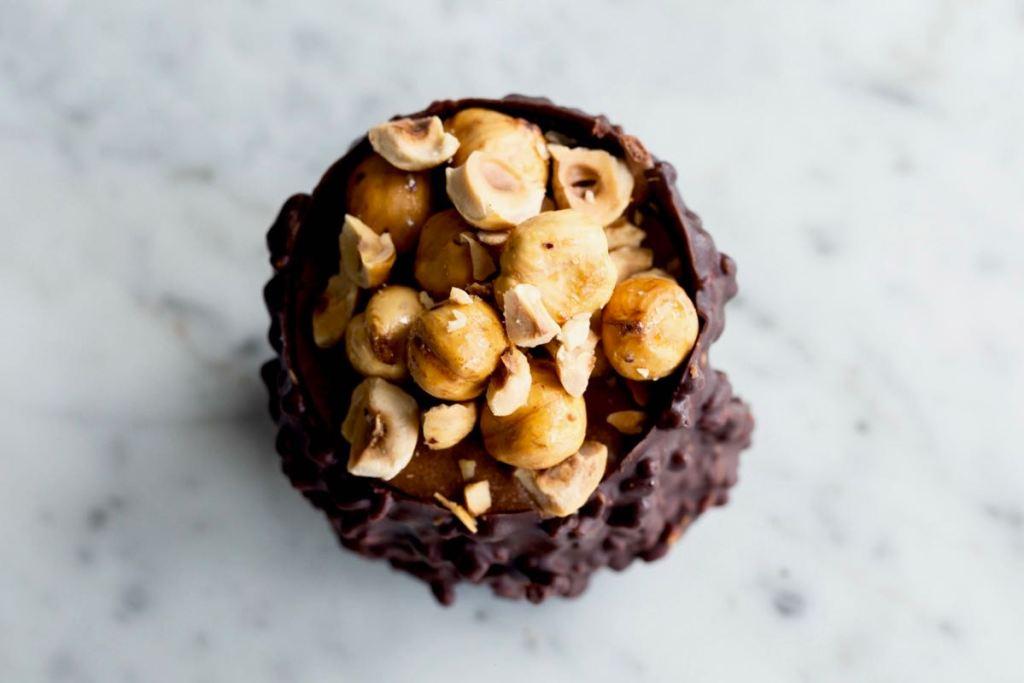 Chocolade hazelnoot dessert - Gwenn's Bakery